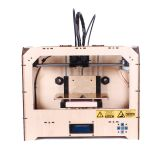 Economical ABS&PLA Dual-extruder Desktop 3D Printer