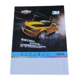 "3M 50"" (1.27m) Glossy Grey Glue Self-adhesive Vinyl Film/Vehicle Wrap, Series 1120"