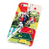 Thickened 3D Sublimation White IPhone 5 Blank Cell Phone Case Cover for Heat Transfer Printing