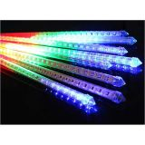 50cm 240 LEDs Waterproof LED Meteor Shower Rain String Fairy Flash Light Xmas Tree Decoration (8 pcs/set)