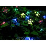 50 LED Solar Powered Peach Blossom String Light, Various Colors