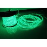 AC110V/220V High Voltage Rainbow Tube LED Rope Lights with Flat Three Lines 36 LEDs/M, 100m(328ft)/roll/pack