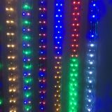 AC110V/220V High Voltage Rainbow Tube LED Rope Lights with Flat Four Lines 72 LEDs/M, 100m(328ft)/roll/pack