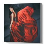 Framless Fabric Display Light Box (Extenal Light) Matte Stain Graphic Only