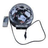 6W Seven LED Magic Crystal Ball