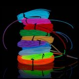 5M Flexible EL Wire Neon Light Dance Party Car Decor
