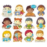 Children Different Occupations Vector Stock Set Illustrations (Free Download Illustrations)