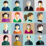 People Characters Vector Stock Set Illustrations (Free Download Illustrations)