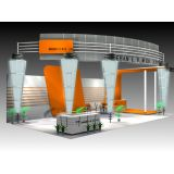 3D Design for Exhibit Displays Graphic 3DMAX (Free Download Illustrations)