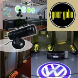 High Quality 10W LED Static Gobo Advertising Logo Projector Light  (1 Light + 1 Two Colors Film)