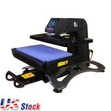 US Stock-Multifunctional Auto Open Pneumatic 3D Sublimation Vacuum Heat Press Transfer Machine