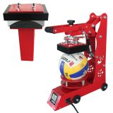Ball et machine de transfert Cap 2IN1 Heat Machine de presse Combo chaleur pour Volleyballs, Footballs, Caps