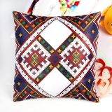Square Sublimation Blank Pillow Case with Flower Printing Pattern Cushion Cover