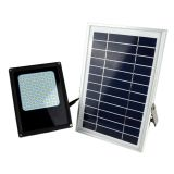 6W 120-LED Solar Powered Dusk-to-Dawn Sensor Waterproof Outdoor Security Flood Light