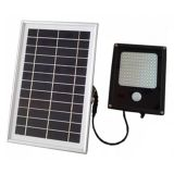 Long Time 6W 120-LED Solar Powered Dusk-to-Dawn Sensor Waterproof Outdoor Security Flood Light