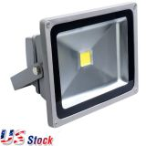 US Stock-2pcs / opakowanie 20Watt 12-24VDC LED Flood Light (Natural White)