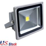 US Stock-50W LED Flood Light Outdoor Landscape Waterproof Lamp, Input AC85-265 Volt(Warm White)(Out of Stock)