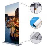 "33"" W x 79"" H Multi-Feature Roll Up Banner (Graphic Included)"