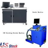US Stock, Metal Channel Letter Making Solution Starter Sets (1 Multi-Function Auto Bender, 1 Notcher)