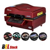 Belgium Stock, Ving 3D Sublimation Heat Press Machine for Phone Cases Mugs Cups Heat Transfer Printing