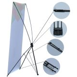 "24""x63"" Economy Aluminum Foot X Banner Stand(10pc/pack)"
