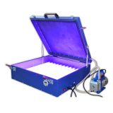 "110V / 220V 240W  Vacuum Exposure Unit 24"" x 26"" Precise Screen Printing Compressor Outside"
