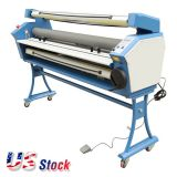 "US Stock, Ving 63"" Full-auto Low Temp. Wide Format Cold Laminator, with Heat Assisted"