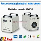 Belgium Stock, S&A CW-3000AG Thermolysis Industrial Water Chiller (AC220V 50Hz) for 60W or 80W CO2 Glass Laser Tube