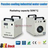 Belgien Stock, S & A CW-3000AG Thermolyse Industriewasserkühler (AC220V 50Hz) für 60W oder 80W CO2 Glass Laser-Schlauch