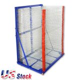 US Stock-50 Layers 900mm x 650mm Screen Printing Drying Rack Screen Printing Equipment Machine Dryer DIY