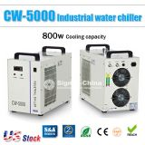 US Stock, S&A CW-5000 Industrial Water Chiller for 5KW Spindle / Wood Carving Machine, 110V, 60Hz