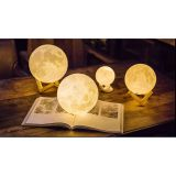 3D Moon Lamp USB LED Night Light Moonlight Gift Swat Sensor Color Changing  15cm