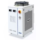 S&A CW-FL-1000BN Industrial Water Chiller for Cooling 1000W Fiber Laser, 2.01HP, AC 1P 220V, 60Hz