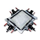 """חדש 24 """"x24"""" מסך הדפסה אלונקה אלוהית בד רשת מתיחה כלים DIY"""