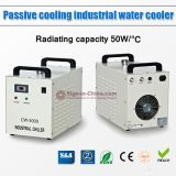 US Stock, S&A CW-3000AG Thermolysis Industrial Water Chiller (AC220V 50Hz) for 60W or 80W CO2 Glass Laser Tube