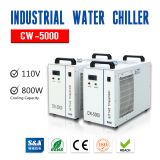 Free Shipping to Canada/Mexico,CW-5000DG Industrial Water Chiller for 80W/100W/120W CO2 Glass Laser Tube Cooling,US Stocks