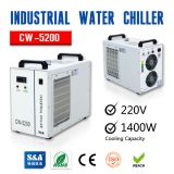 BEL Stock, S&A CW-5200AG Industrial Water Chiller (AC 1P 220V, 50Hz) for Single 150W CO2 Glass Laser Tube Cooling