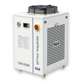S&A CW-5300BH Industrial Water Chiller (AC 1P 220V 60Hz) for 150W CO2 Glass Laser Tube Cooling, 0.96HP