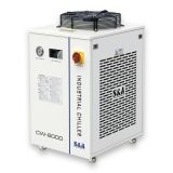 S&A CW-6000BI Industrial Water Chiller for Single CO2 100W RF Metal Laser Tube Cooling, 1.22HP, AC 1P 220V, 60HZ