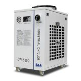 S&A CW-5300AI Industrial Water Chiller (AC220V 50HZ) (Cooling 200W CO2 laser, 100W Laser Diode, 75W Solid-state Laser, 18KW CNC Spindle or Welding Machine, 1.09HP)