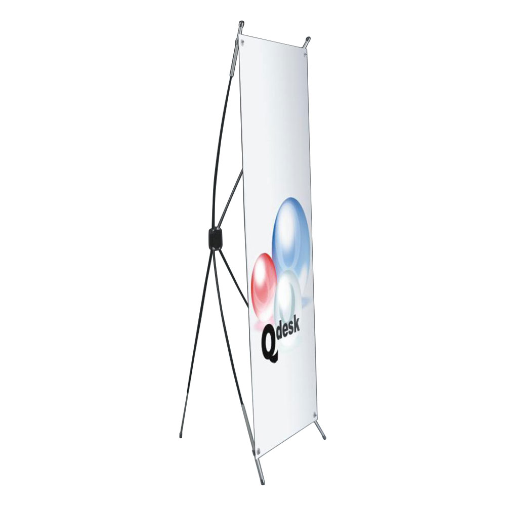 Round Bar Classic X Banner Stand (31.5\