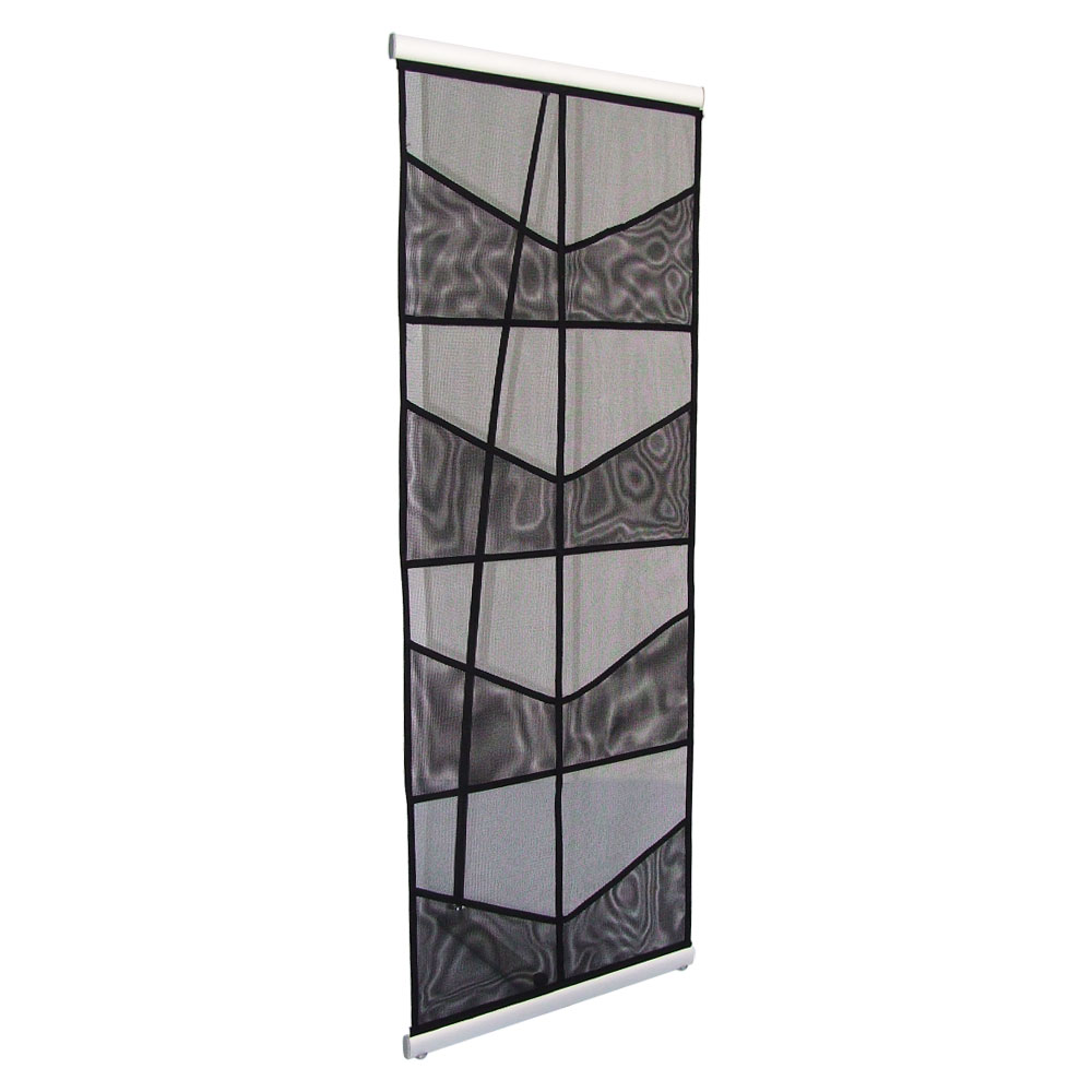 Magazine Display Stand: Silver Mesh with 8 Pockets