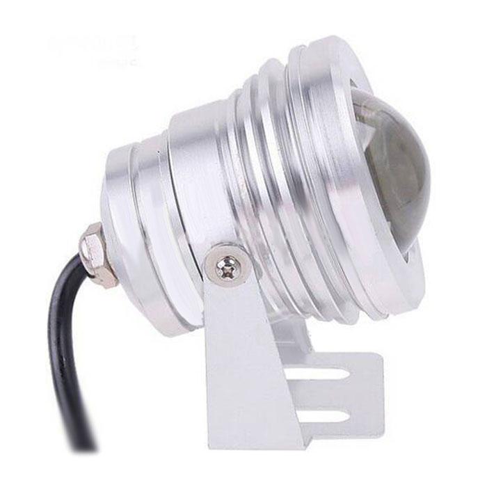 12-24V 10W RGB Silver Underwater Lamp