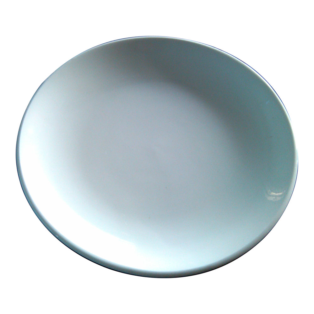 10 Inch Sublimation Ceramic White Plate