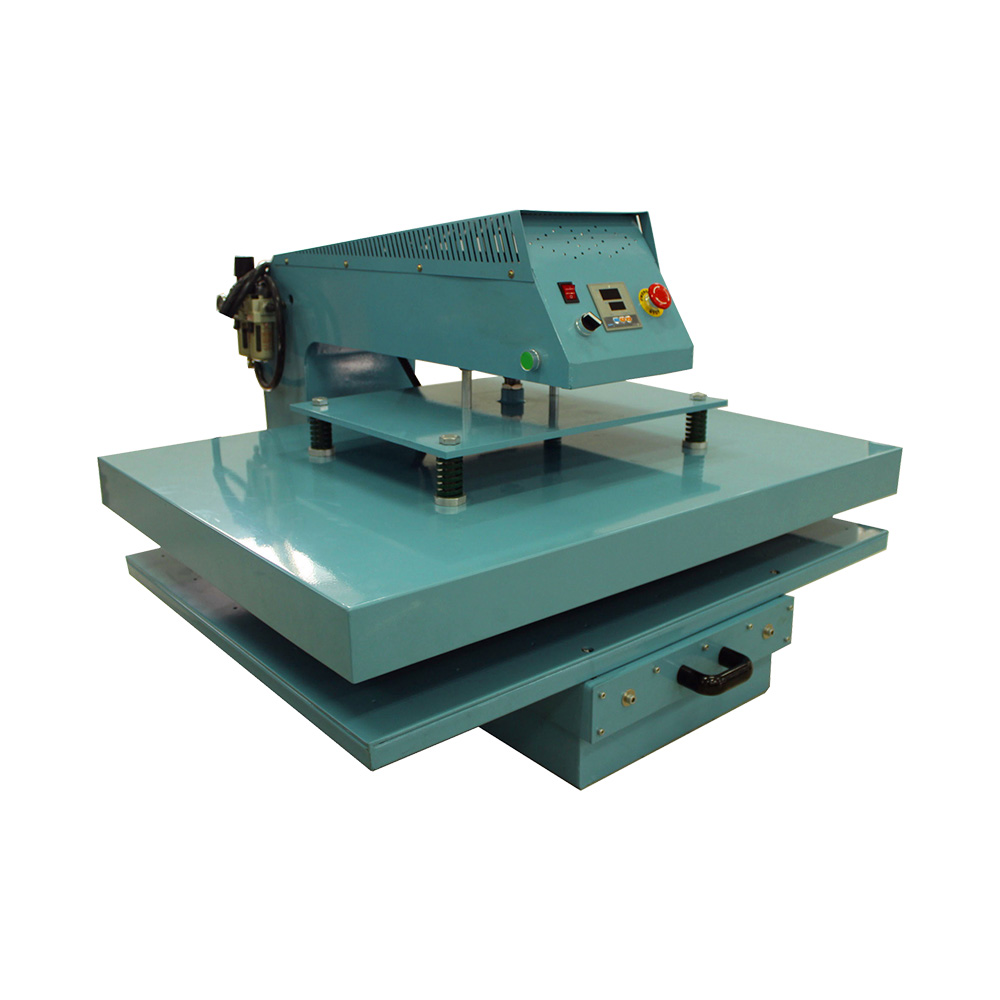 """New Style 16"""" x 20"""" Single Working Table Pneumatic Sublimation Heat Press Machine with Draw Motion"""
