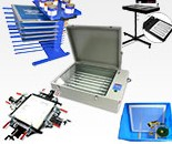 Screen Printing Auxiliary Equipments