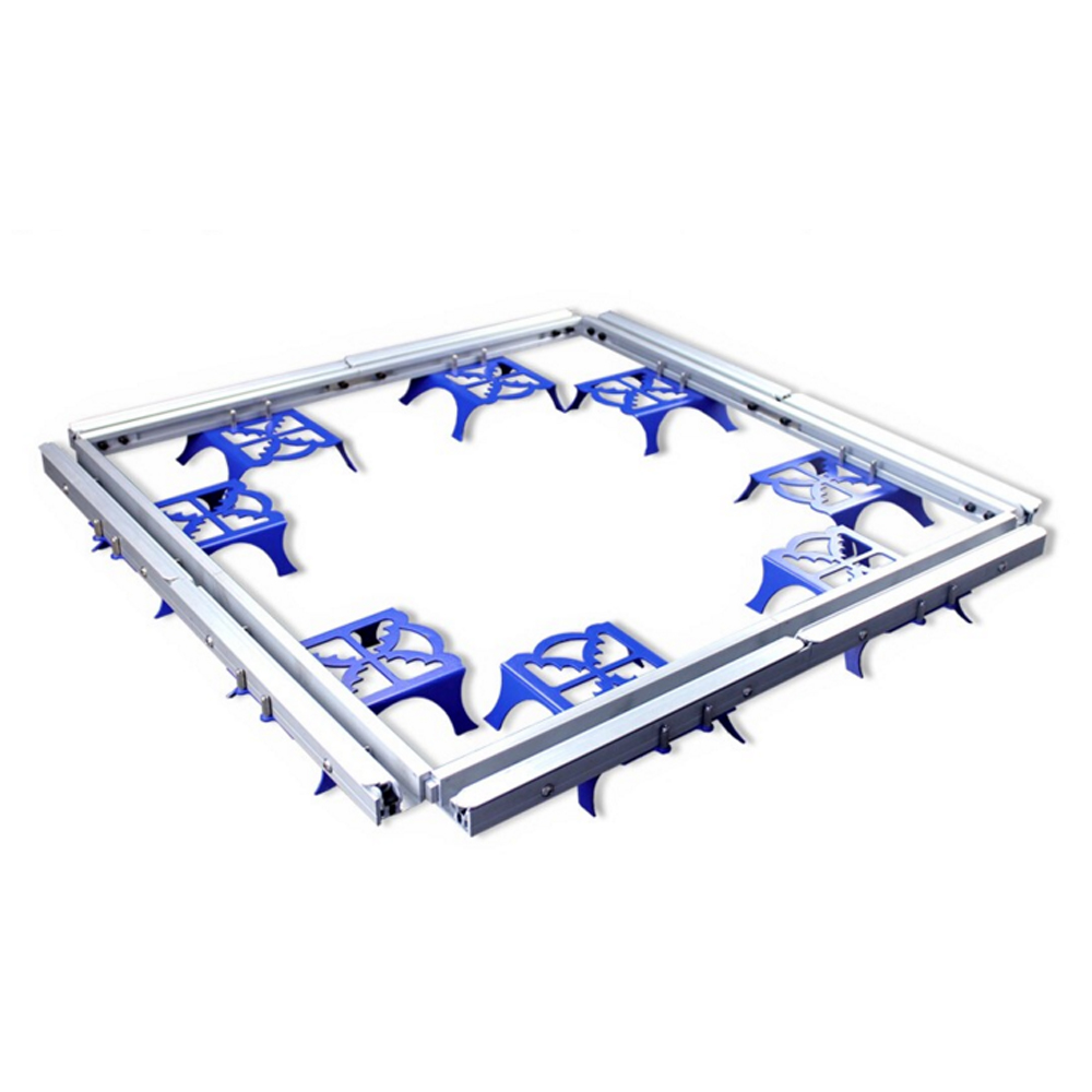 12*12inch Tensioning Screen Frame Portable Quality Aluminum Screen Frame Stretcher Stretch