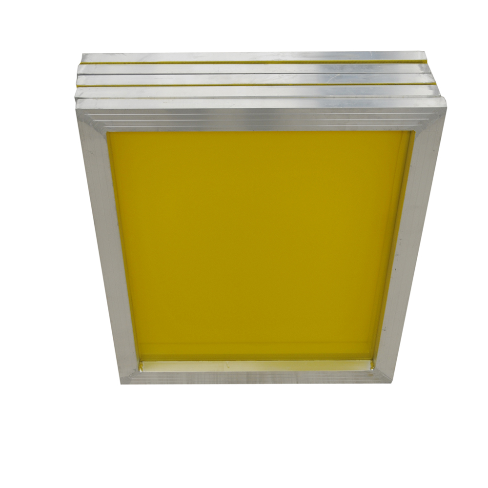"US Stock, 6 pcs -20"" x 24""Aluminum Screen Printing Screens with 200 Yellow Mesh Count (Tubing: 1""x 1.5"")"