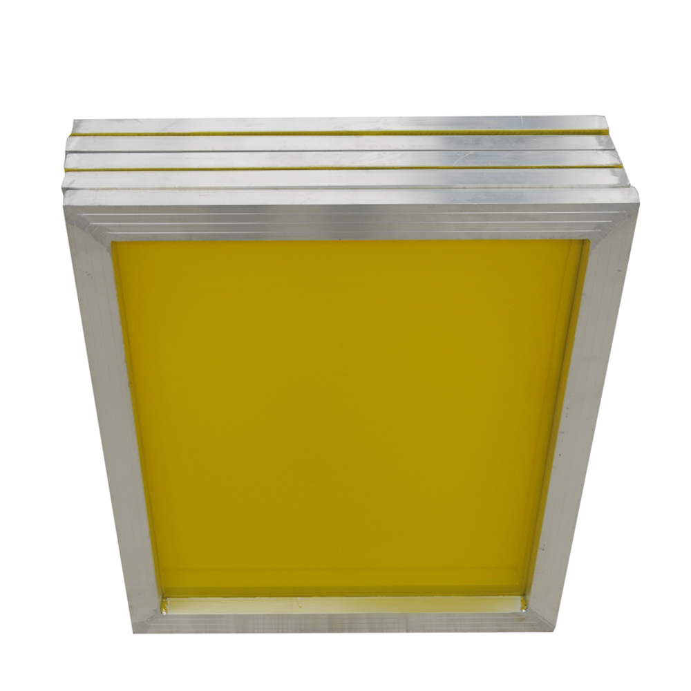 "US Stock, 6 pcs -18"" x 20""Aluminum Screen Printing Screens With 230 Yellow Mesh Count (Tubing: 1""x 1.5"")"