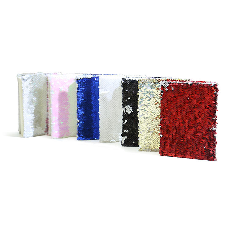Blank Reversible Sequin Magic Large Size Notebook for Sublimation